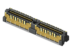 0.635 mm Q2™ Shielded Ground Plane Terminal Strip