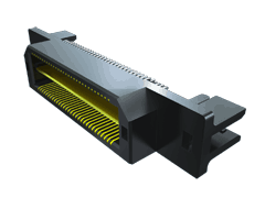 0.50 mm Q Strip® High-Speed Ground Plane Terminal Strip, Edge Mount