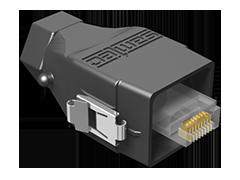 Acclimate™ IP68密封以太网电缆插头,现场端接套件