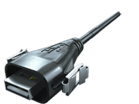 AccliMate™ IP68密封矩形USB电缆组件