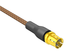 """50欧姆,直径 .047""""射频柔性电缆组件"""