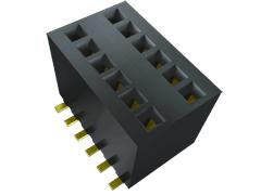 ".050"" X .100""表面実装マイクロ ソケットストリップ"