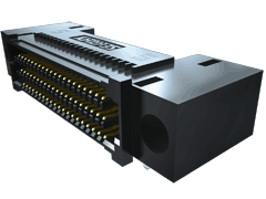".050"" SEARAY™ High-Speed High-Density Open-Pin-Field Array Socket, Right-Angle"