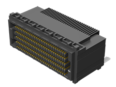 0.80 mm SEARAY™ High-Speed High-Density Open-Pin-Field Array Socket, Right-Angle
