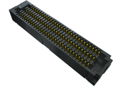 0.80 mm SEARAY™ High-Speed High-Density Open-Pin-Field Array Socket