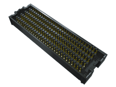 ".050"" SEARAY™ High-Speed High-Density Open-Pin-Field Array Socket"