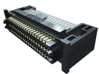 ".050"" SEARAY™ High-Speed High-Density Open-Pin-Field Array Terminal, Right-Angle"