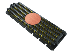".050"" SEARAY™ High-Speed High-Density Open-Pin-Field Array Terminal"