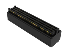 ".050"" SEARAY™ High-Speed High-Density Open-Pin-Field Array Terminal, 85 Ohm"