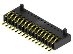 1.00 mm Single Row One-Piece Interface