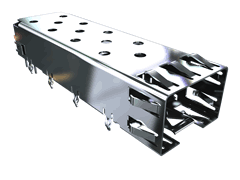 SFP+ Cage for MECT/SFPE Series