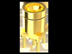50欧姆SMPM插头,达65 GHz,通孔