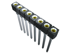 ".100"" Single Row Screw Machine Socket Strip"