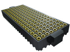 ".050"" SamArray® Low Profile Open-Pin-Field Array Socket"