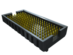 ".050"" SamArray® Low Profile Open-Pin-Field Array Terminal"