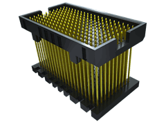 ".050"" SamArray® Open-Pin-Field Array Board Stacker"