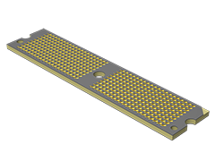 0.80 mm Ultra Low Profile Micro Array