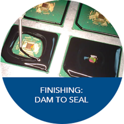 Finishing: Dam to Seal