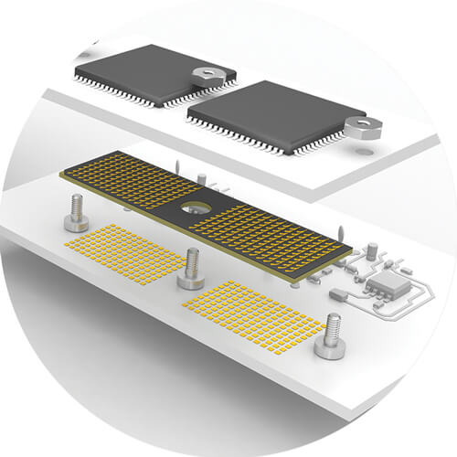 Design flexibility with ultra low profile high-density micro interposers