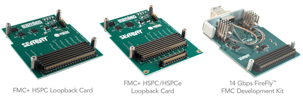 FMC / FMC+ Development Kits & Boards