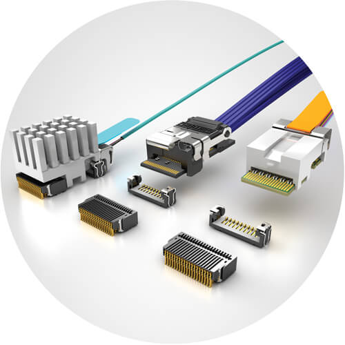 Future-proof connector designs offer easy migration path to 56+ Gbps