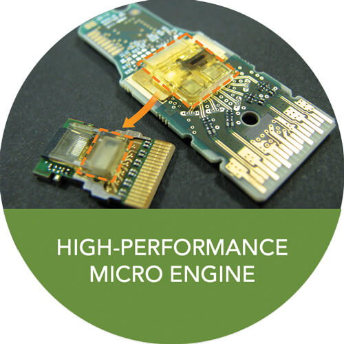High-Performance Micro Engine