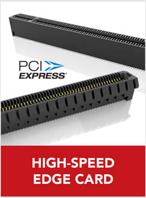 high-speed edge card