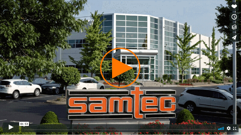 Samtec Quality Assurance video